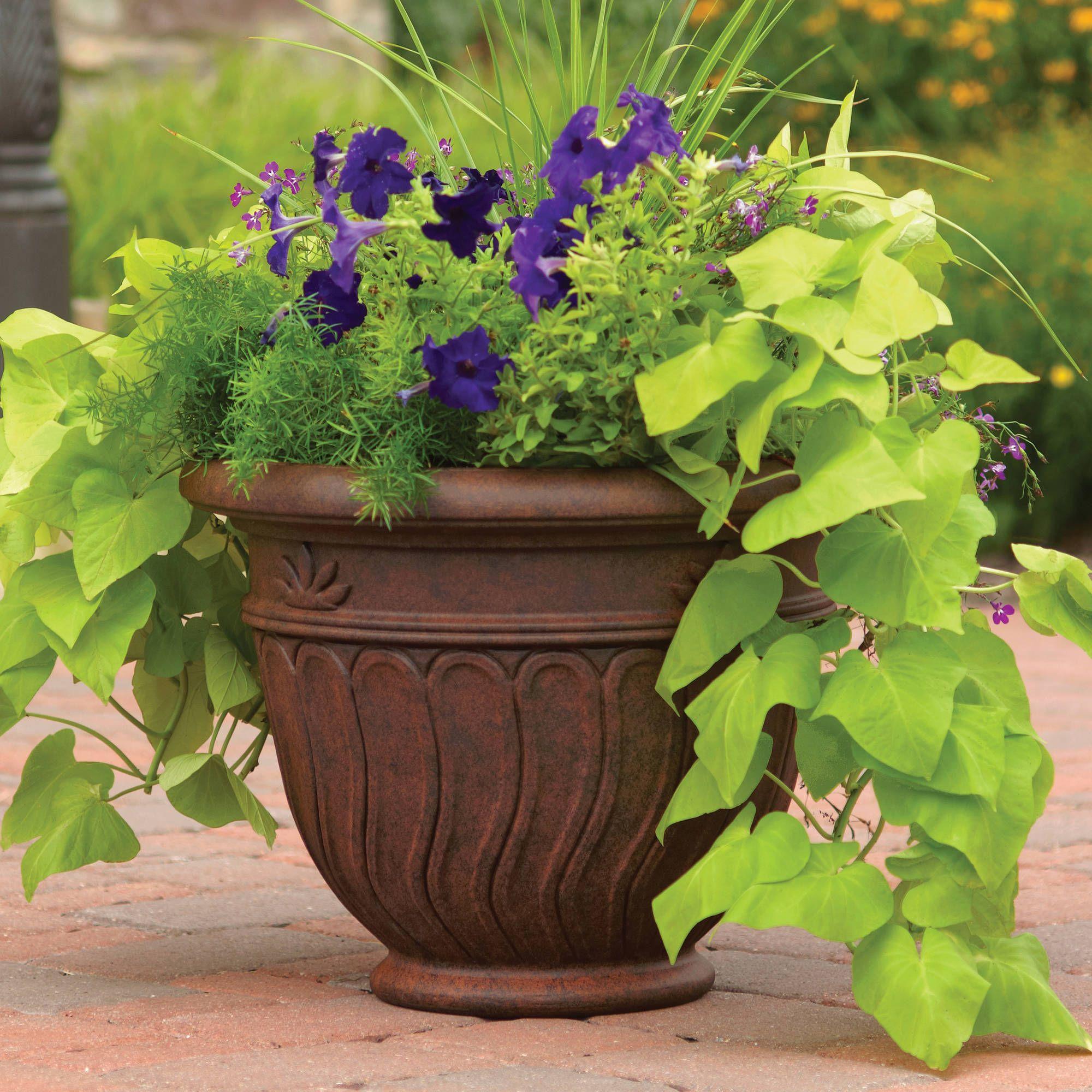 b232c86f9c9375eb3ba15d5acd15ca6d - Better Homes And Gardens 16 Inch Round Planter