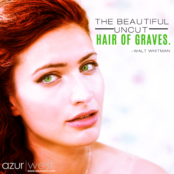 the beautiful uncut hair of graves