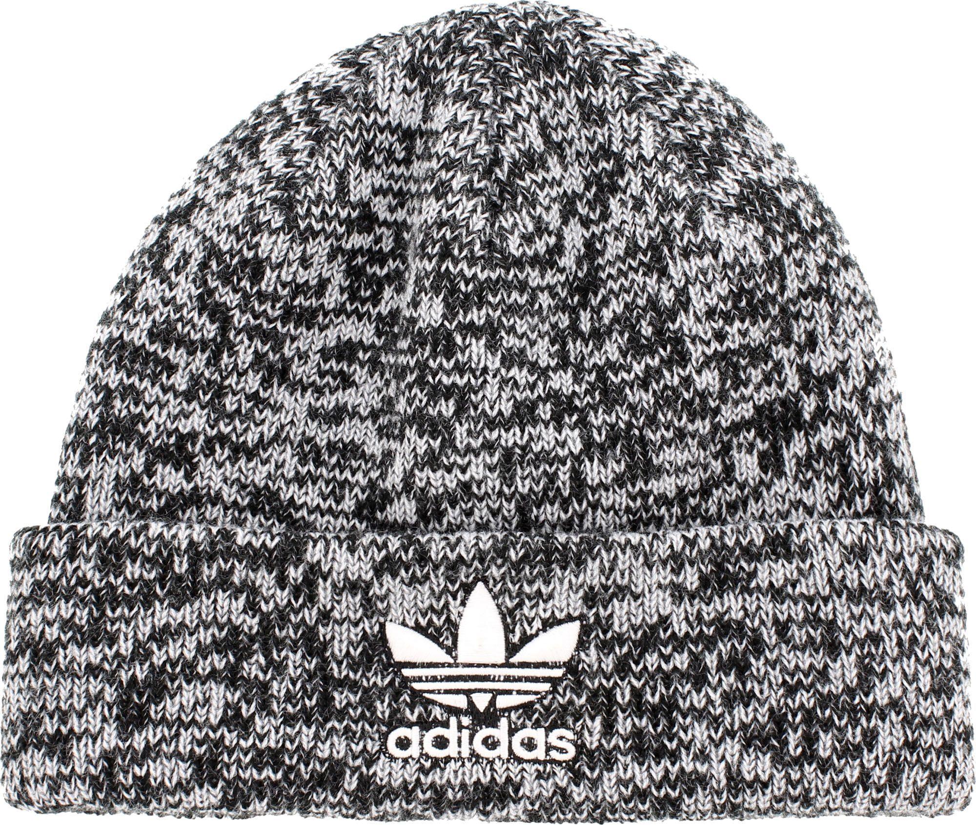 lowest price 55f83 759e7 adidas Originals Men s Trefoil II Knit Beanie, Black