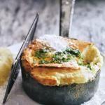 Soufflés, Seafood & Garlic Bread
