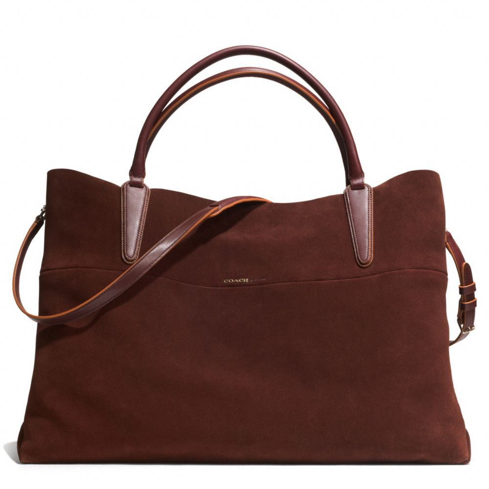 1f7058e730 COACH NEW !!!!!!! The The Xl Soft Borough Bag In Suede from Coach ...