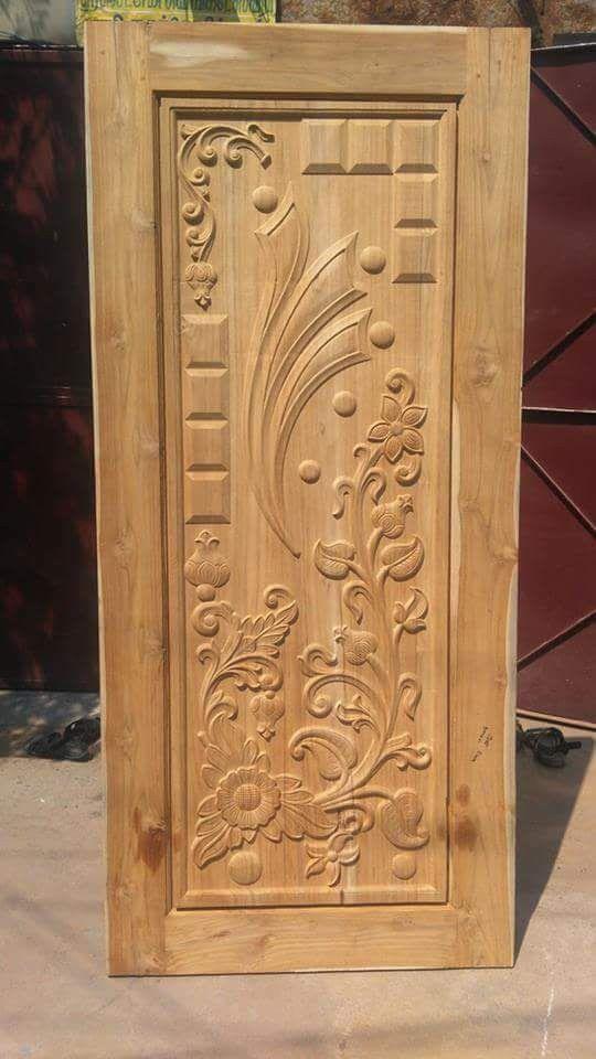 Classical Wooden Single Door Designs For Room: Door Design Wood, Front Door Design Wood, Single