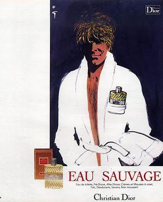 Eau Savage ~ René Gruau