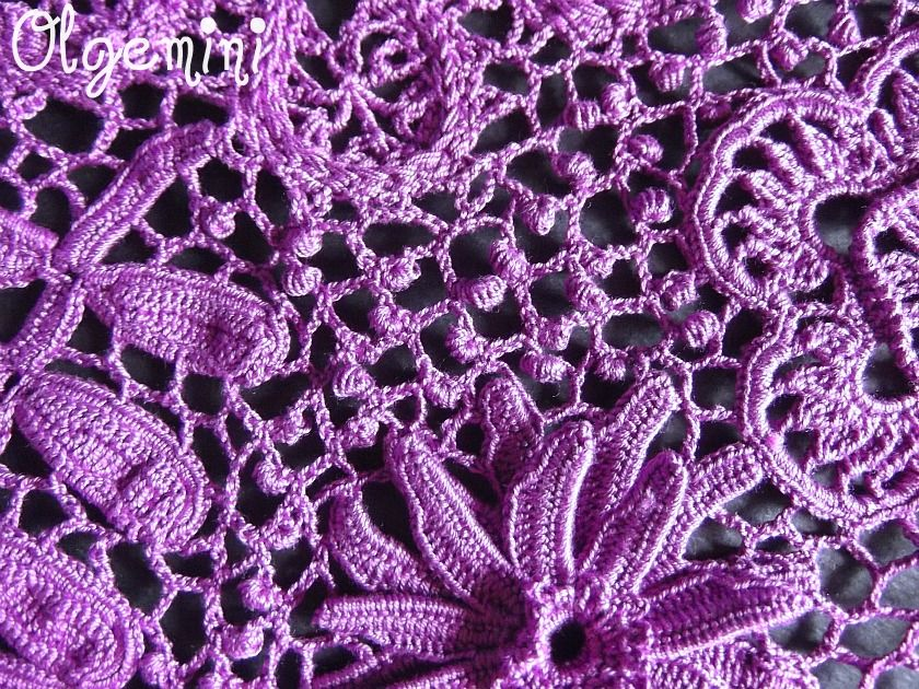Закончена работа над ещё одним фиолетовым проектом. Платье ...