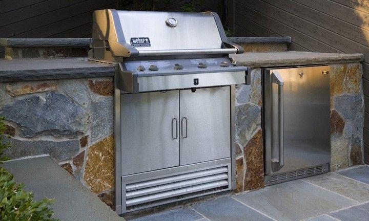 Grill01 hardscape installation outdoor patio