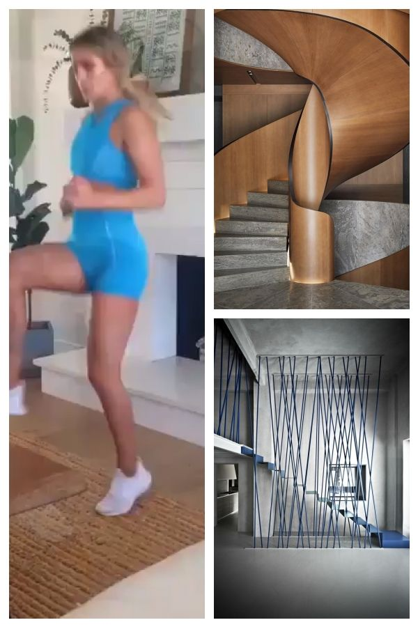 Commitment! Make use of all interiors. ? #Gymshark #Workout #Target #Fitness … #stairsworkout #Commi...