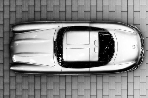 The Icon From Above Drive Mercedes 300sl Automobile Vintage Cars