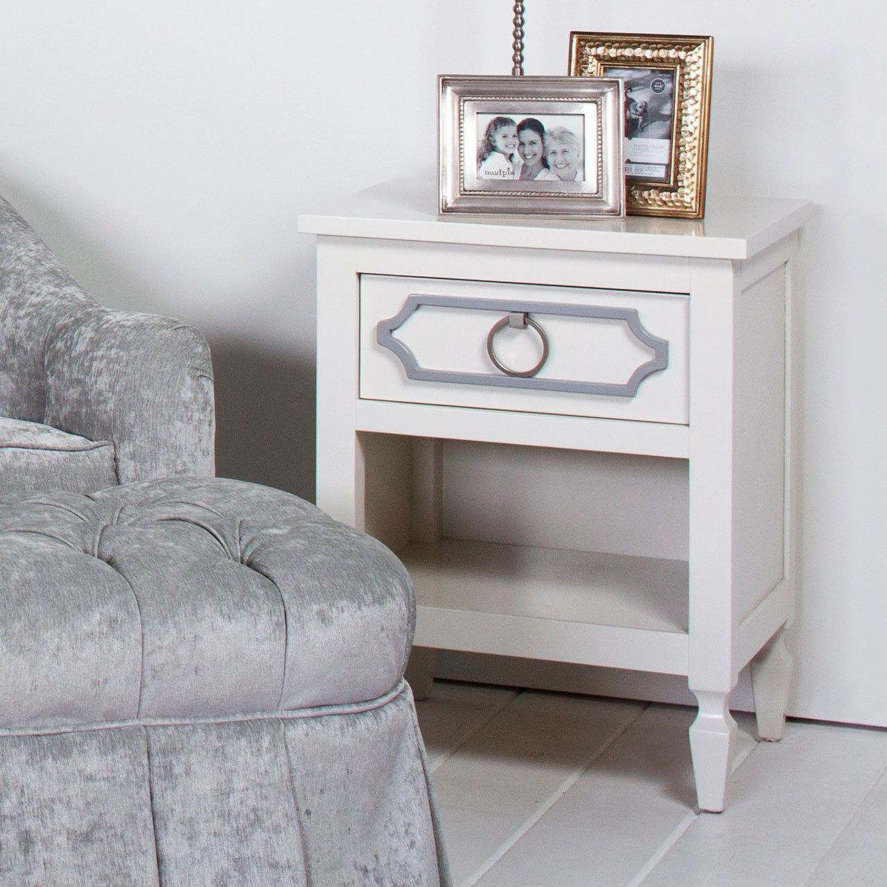 beverly nightstand cottage house ideas pinterest gray