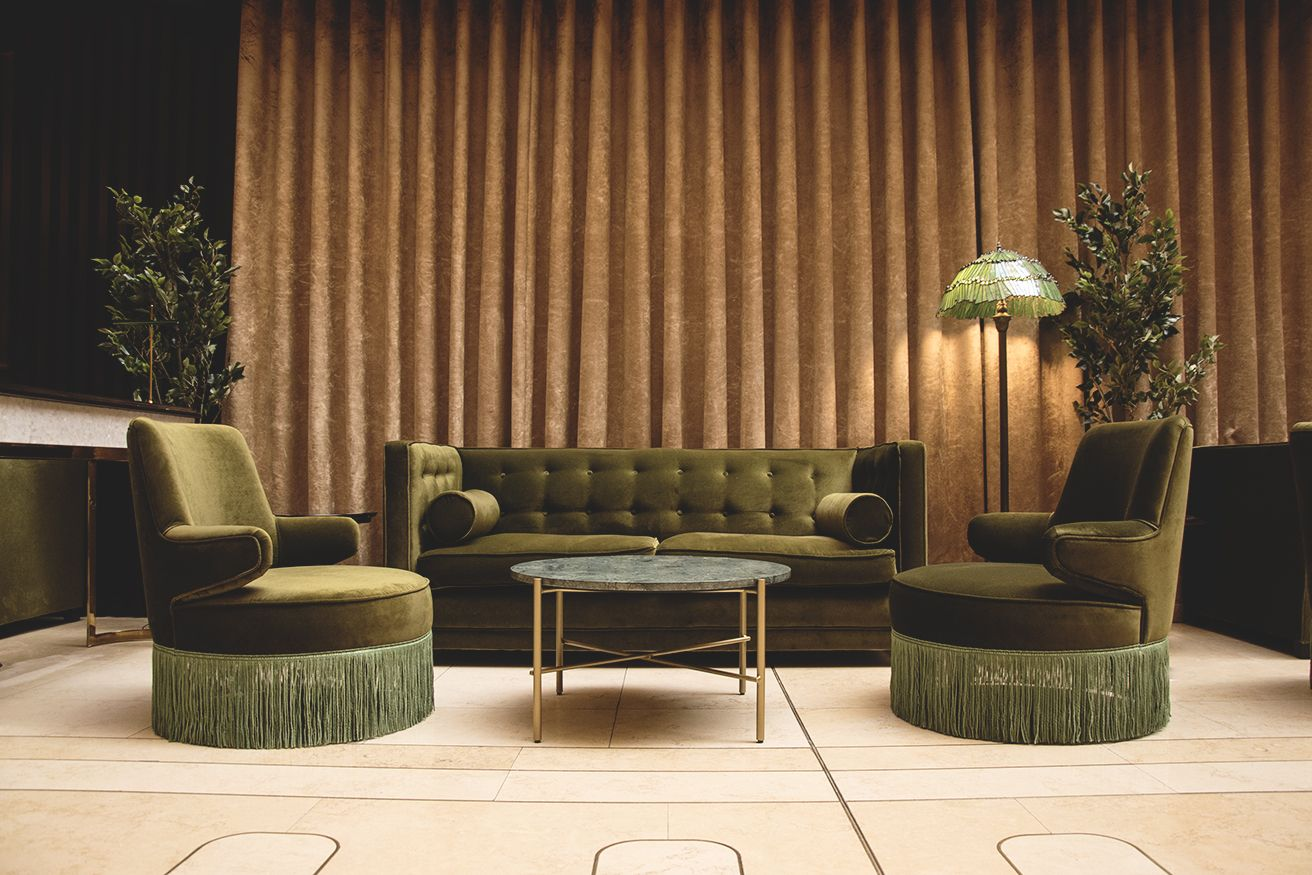 Classic Hotel Design With A Touch Of The Emerald City The
