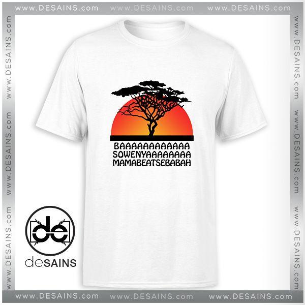 05e367445 Cheap Graphic Tee Shirt The Lion King Disney Tshirt Size S-3XL //Price:  $13.00 Gift Custom Tee Shirt Dress // #Desains #Tees #Shirt #Dress