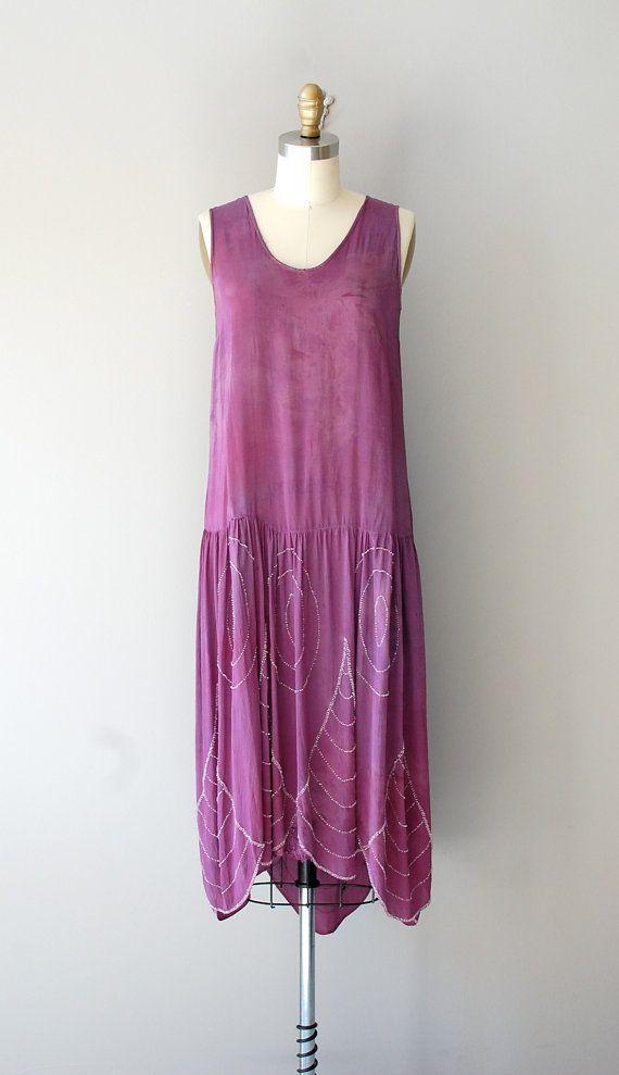 4afbb8321a24a 1920s beaded silk dress 20s Fashion