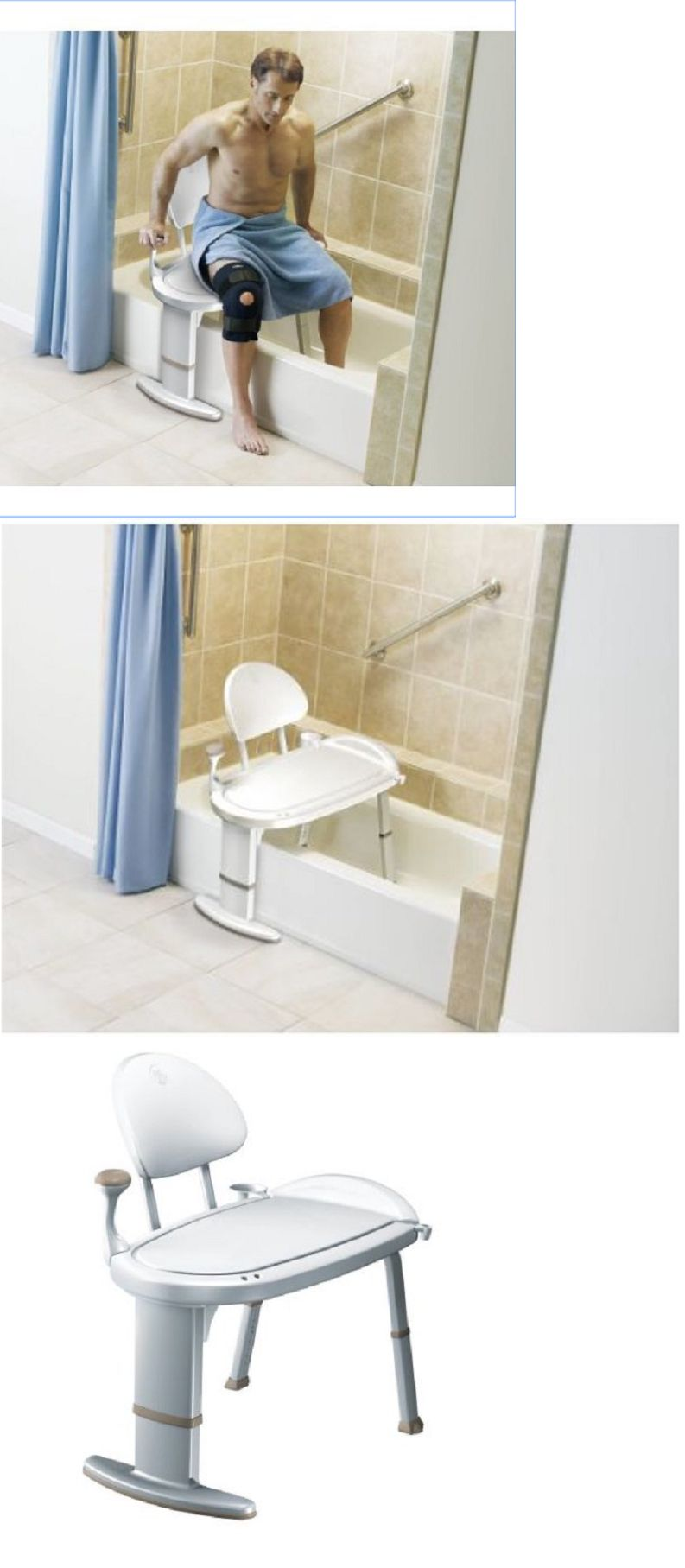 Transfer Boards And Benches: Handicapped Shower Chair Handicap Disabled  Disability Bath Bathtub Bench Adjust
