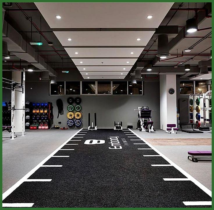 Rubber Floors Sprint Track Fitness Help Follow The Solution A Ruang Gym Gym Rumah Dekorasi Asrama