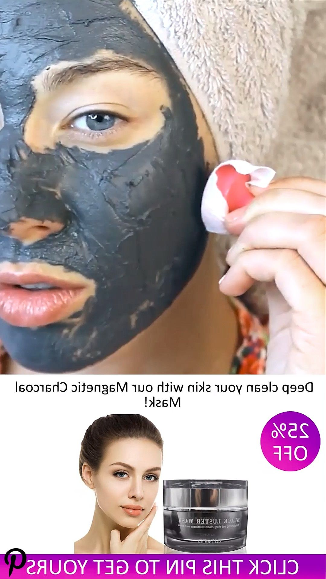 Magnetic Charcoal Mask Video Magnetic Charcoal Mask Video