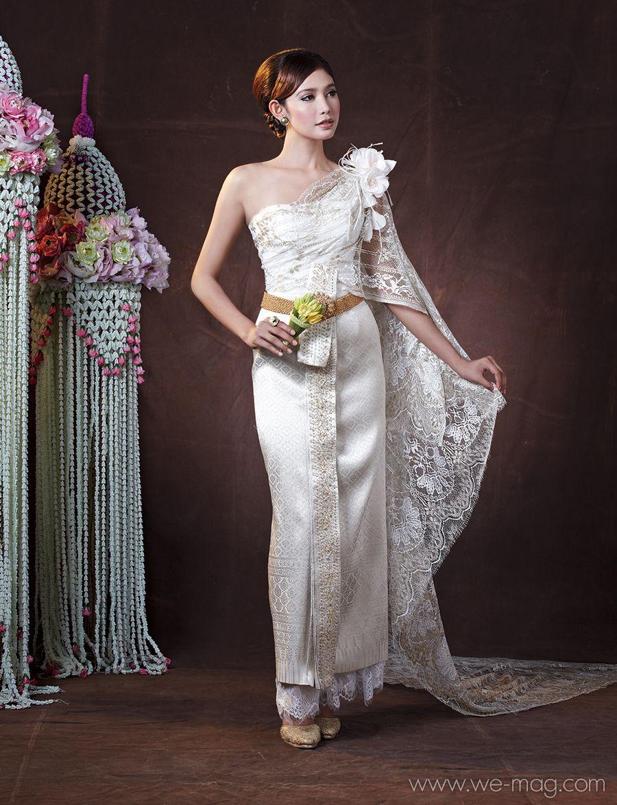 Thai wedding dress 02 | เสื้อผ้าน่าใส่ | Pinterest | Thai wedding ...