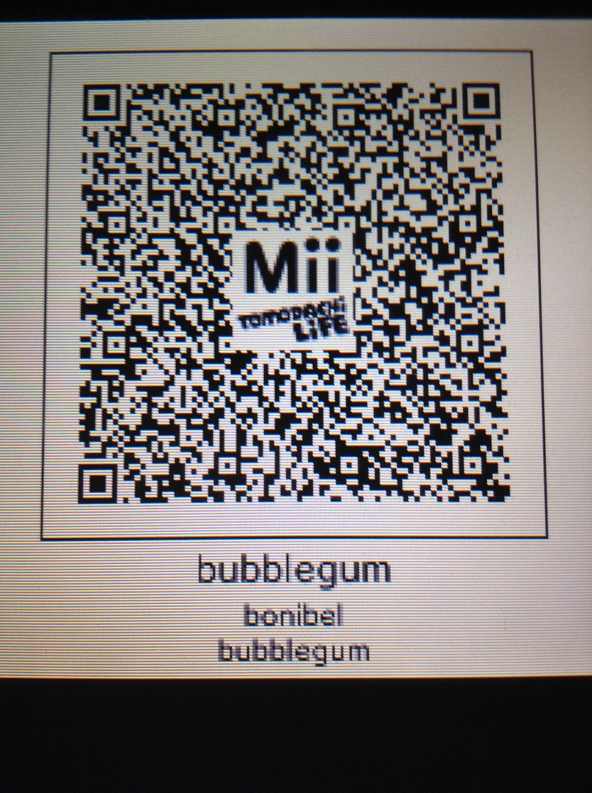 QR code for princess bubblegum Life code, Coding, Qr code