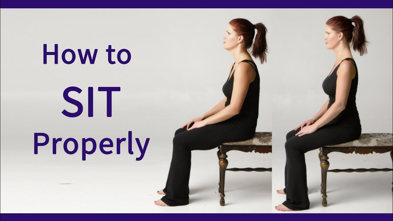 Posture Coach Shows How To Sit Properly Youtube How To Sit Properly Posture Exercises Postures