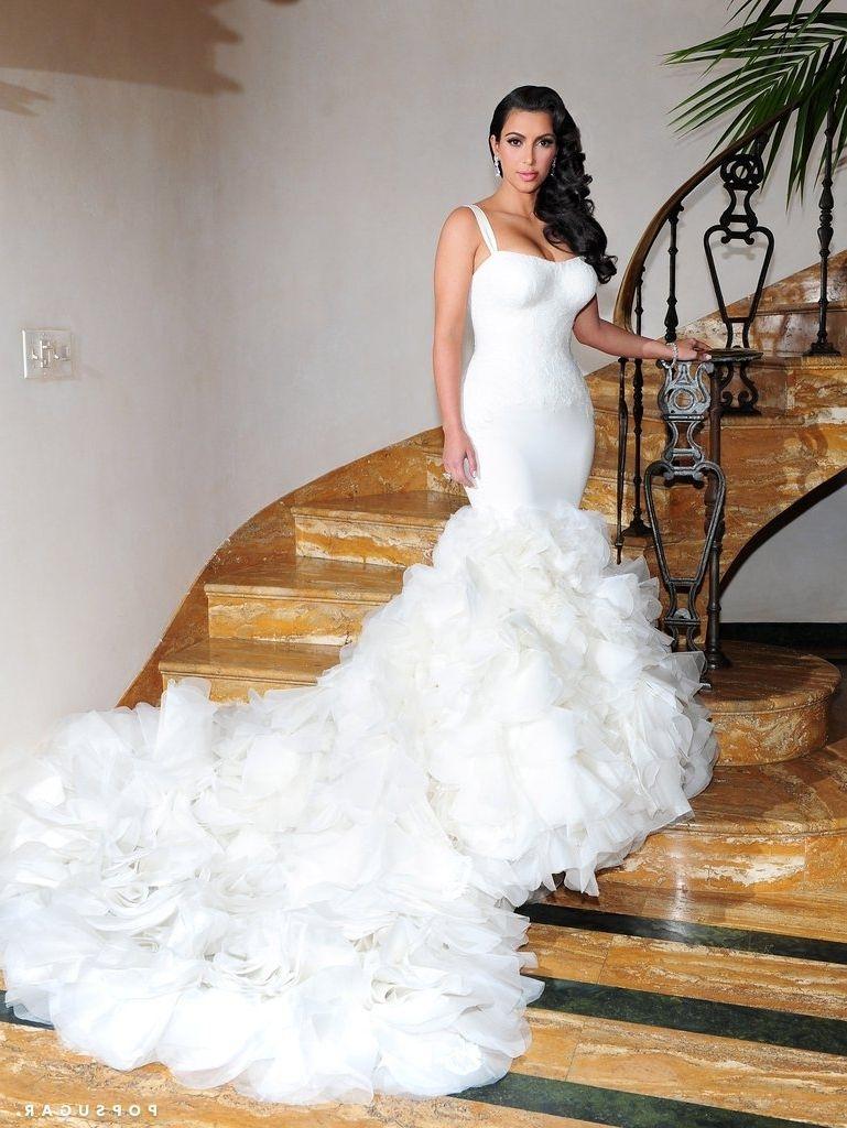 Kim Kardashian Wedding Dress Chris Humphries