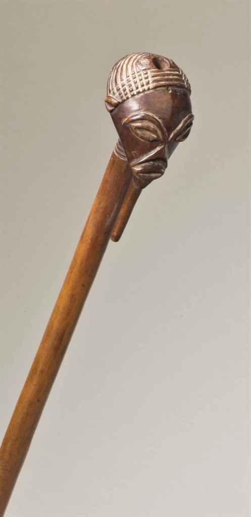 Sceptre de chef Songyé Songye chief's scepter République Démocratique du Congo Longueur: 51 cm.