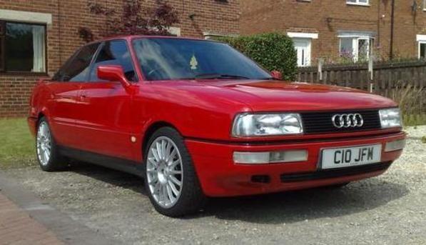 1989 Audi 90 Quattro 20V 2226cc 5 cylinder fuel injection