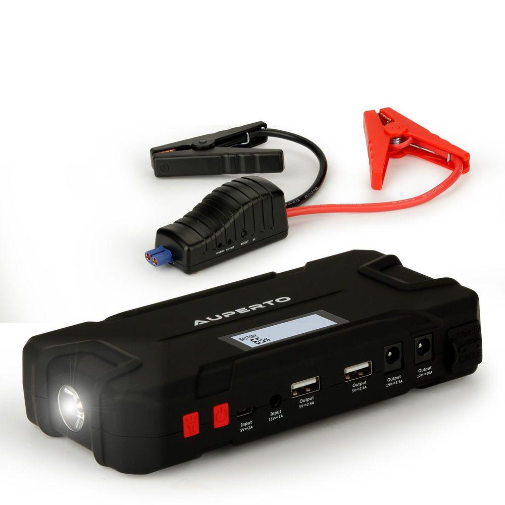 Car Jump Starter 15000mAh 600A Peak Auto Battery Booster