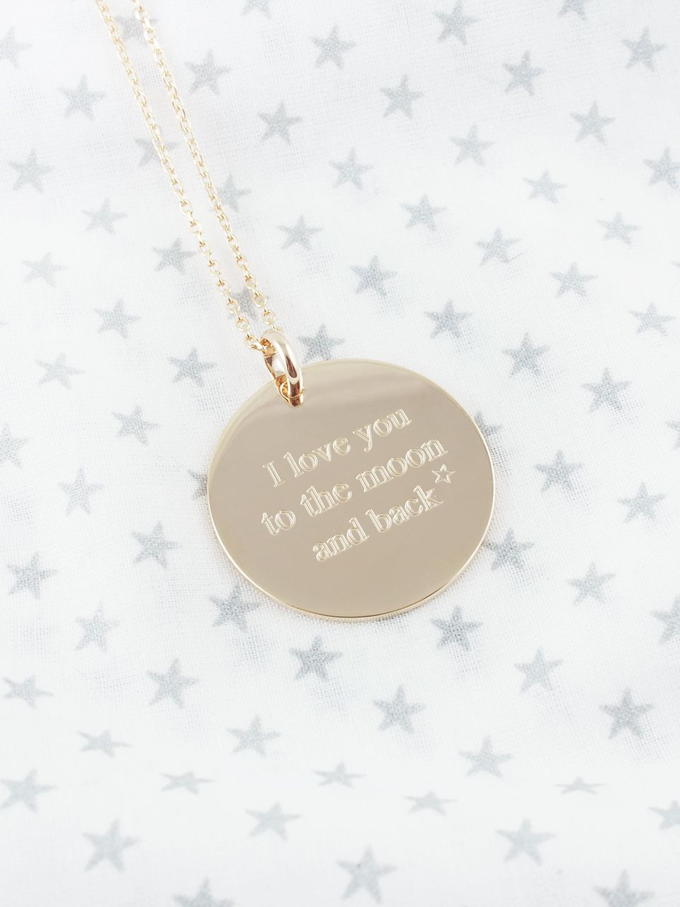 Sautoir I love you to the Moon and back - You May Love It Shop