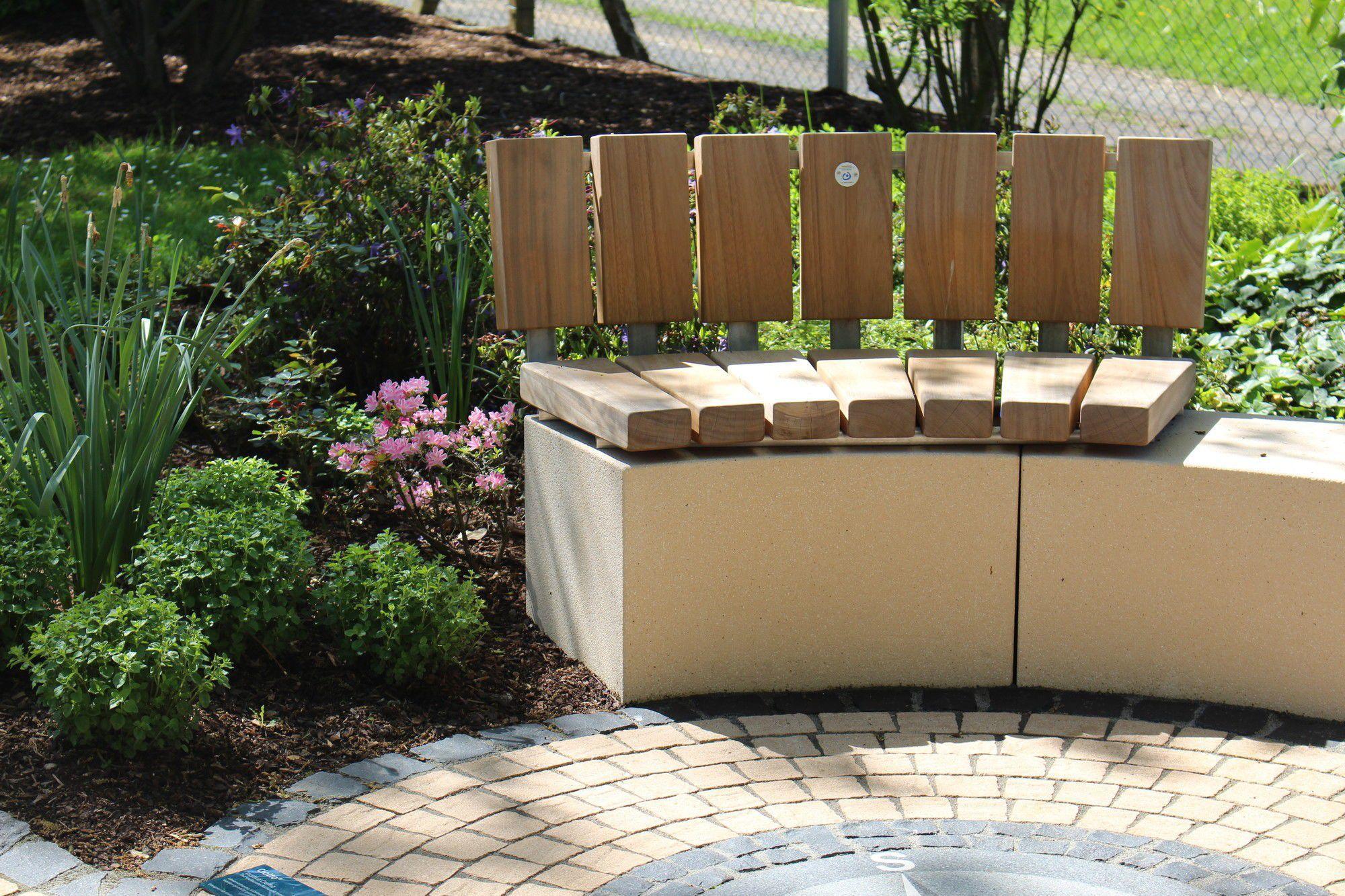 garten-bank / modern / holz / aus stein - rinnit platinum - rinn, Garten und bauen