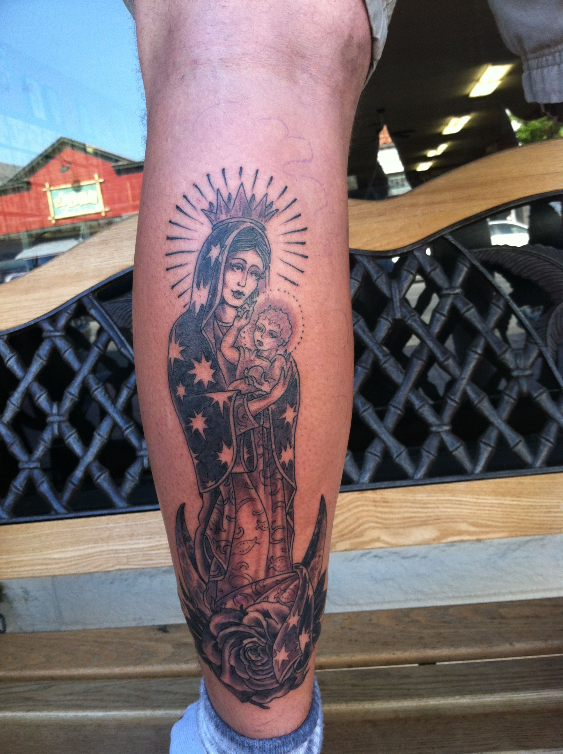 38 best Mary Tattoo Outlines images on Pinterest | Tattoo