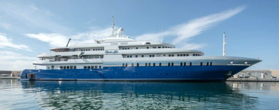 Queen Miri yacht | Yacht design, Yacht, Boat