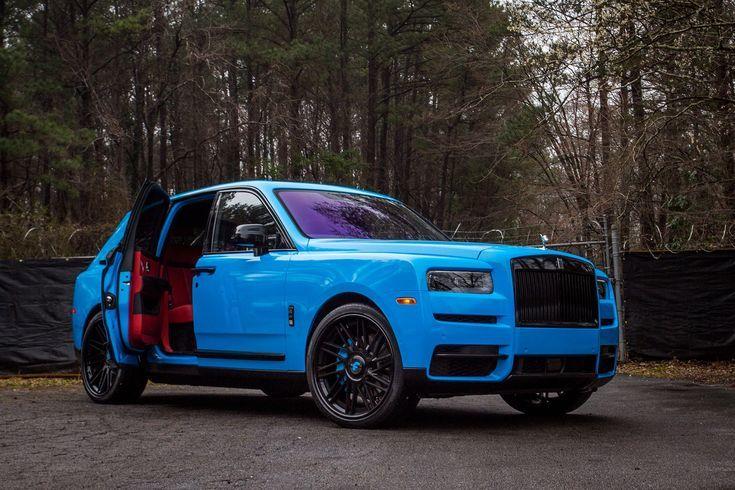 Celeb-Owned Rolls-Royce Cullinan Gets Flashy Wrap, 24-Inch Rims #cars – #24Inch …
