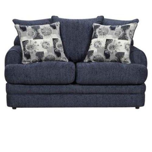 Flash Furniture Flash Furniture 4652CALIBERNAVY-GG Exceptional Designs Caliber Navy Chenille Loveseat | #Furniture