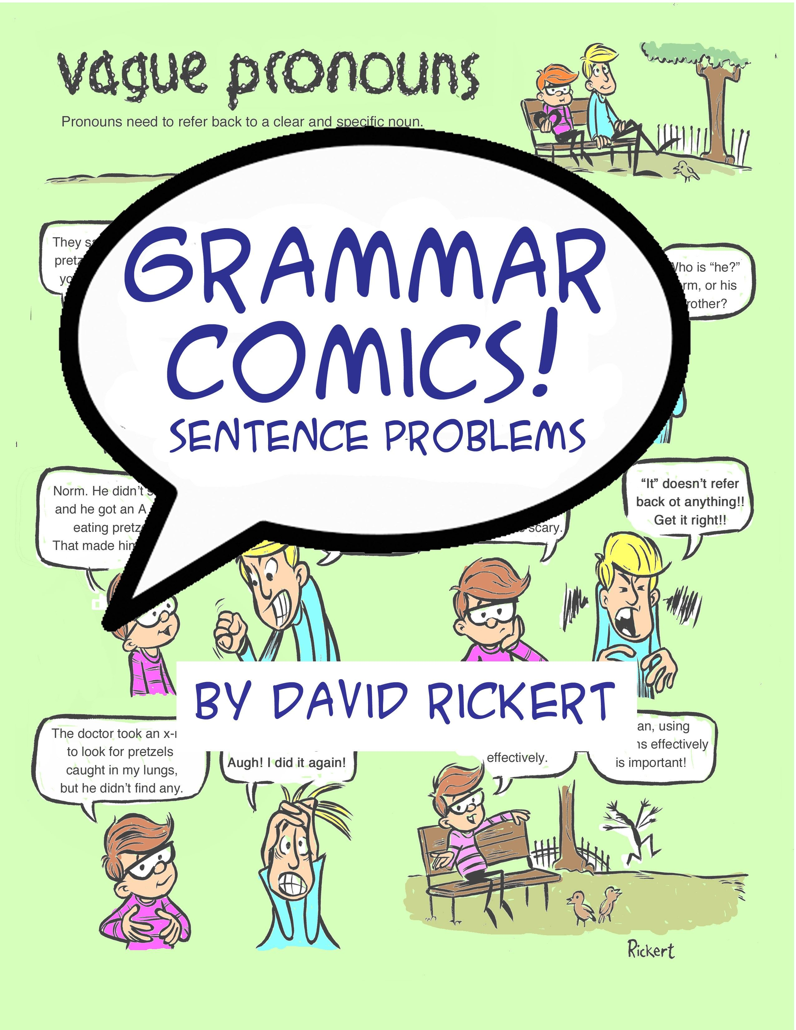 Grammar Comics Sentence Problems Addresses Many Of The