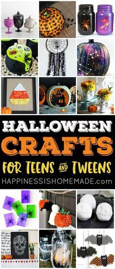 These Easy Halloween Crafts For Teens Are Perfect Teenagers Older Kids And Adults