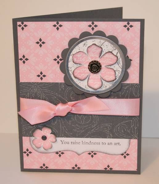 Playing with Pink and Gray by OregonStamper - Cards and Paper Crafts at Splitcoaststampers