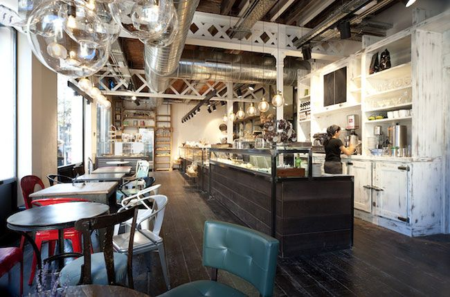 Industrial And Vintage Decor Bakery Interior Bakery Design Interior Rustic Bakery