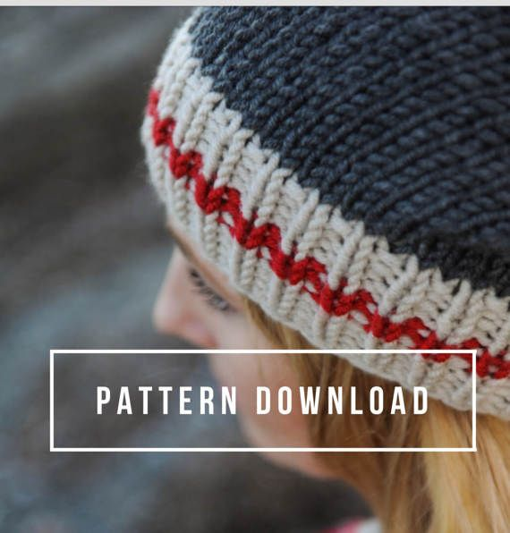 KNITTING PATTERNS    Work Sock Hat Sock Monkey Hat Hat b5807188bd8