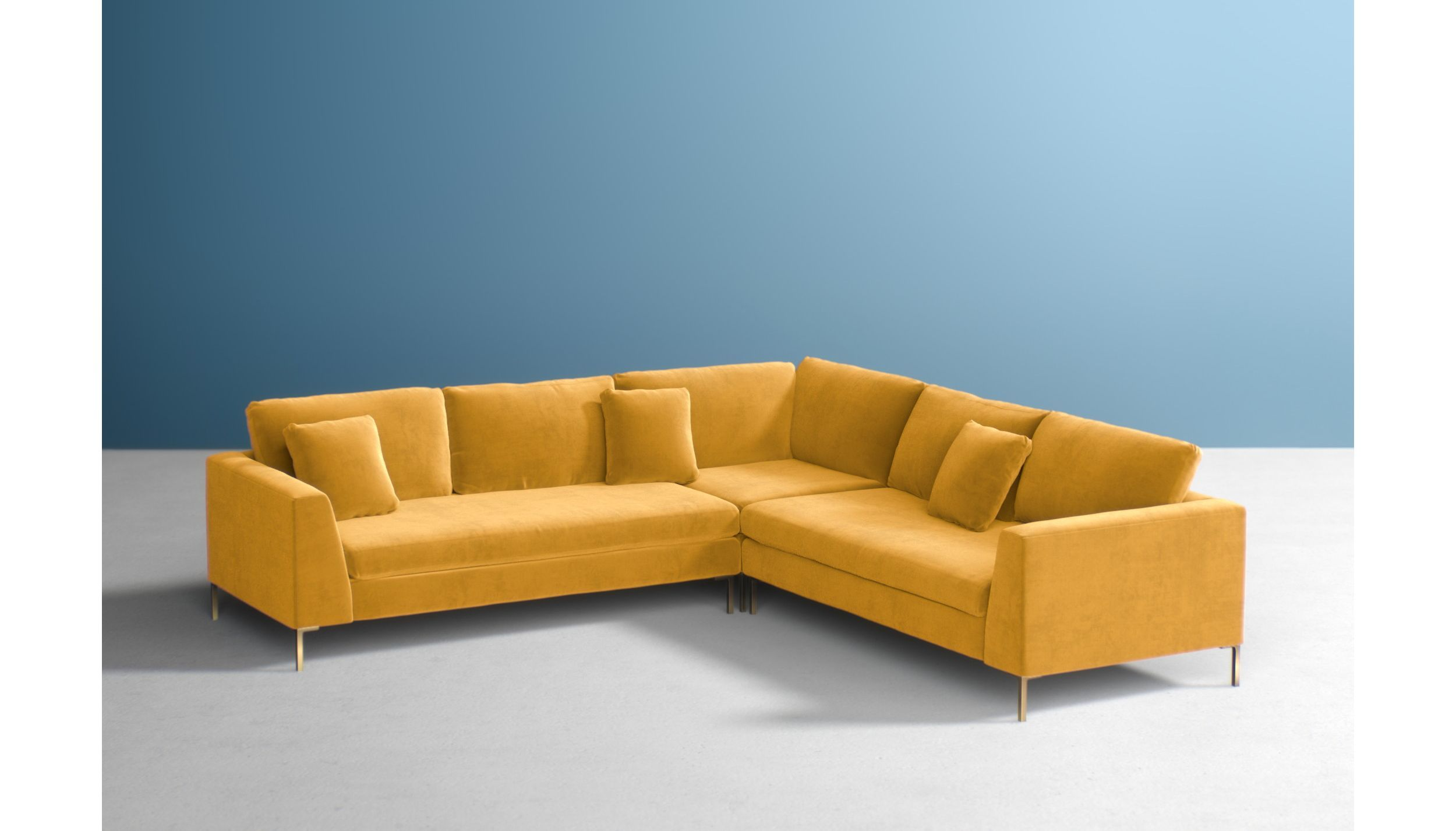 Best Edlyn L Shaped Sectional Sectional Sofa Sofa Cheap Sofas 400 x 300