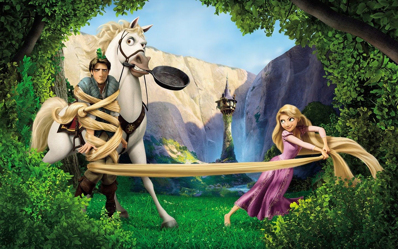 Wallpapers Tangled Disney Lios De Disney Enredados Rapunzel