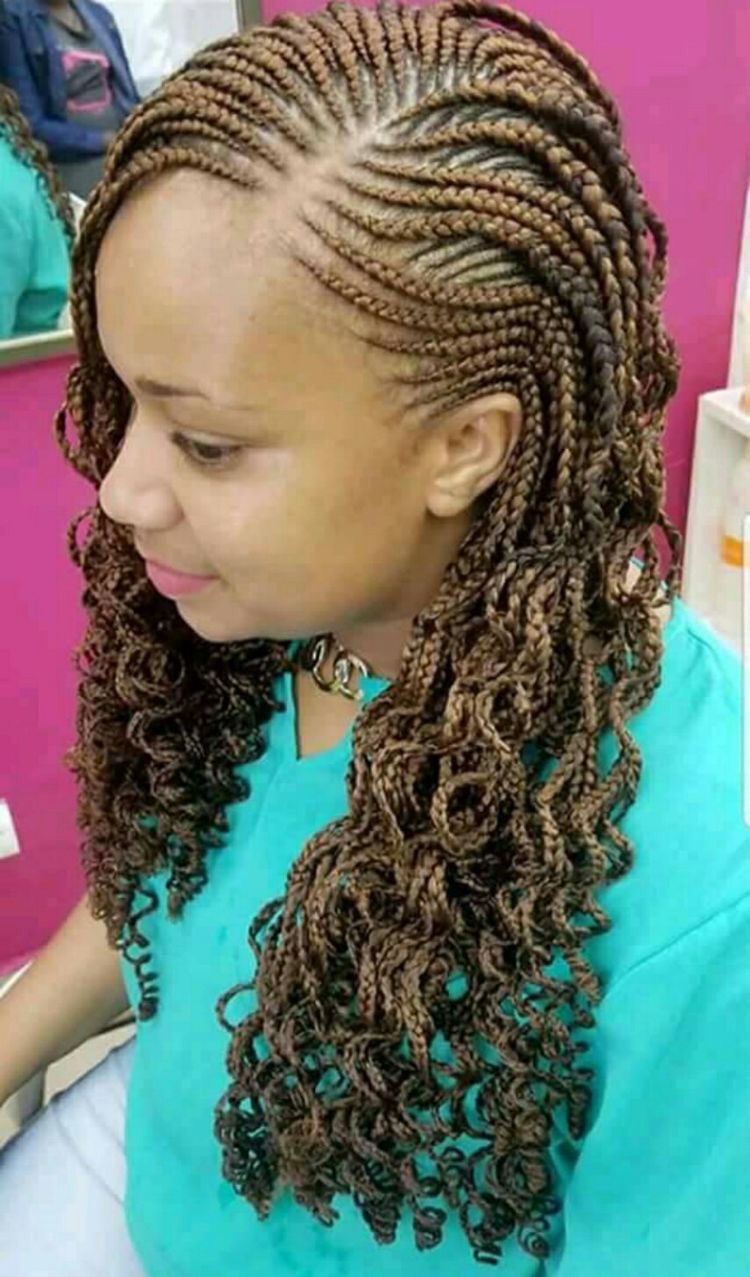 Pin By Nomaswazi On Back Hair Braided Hairstyles Braid Styles