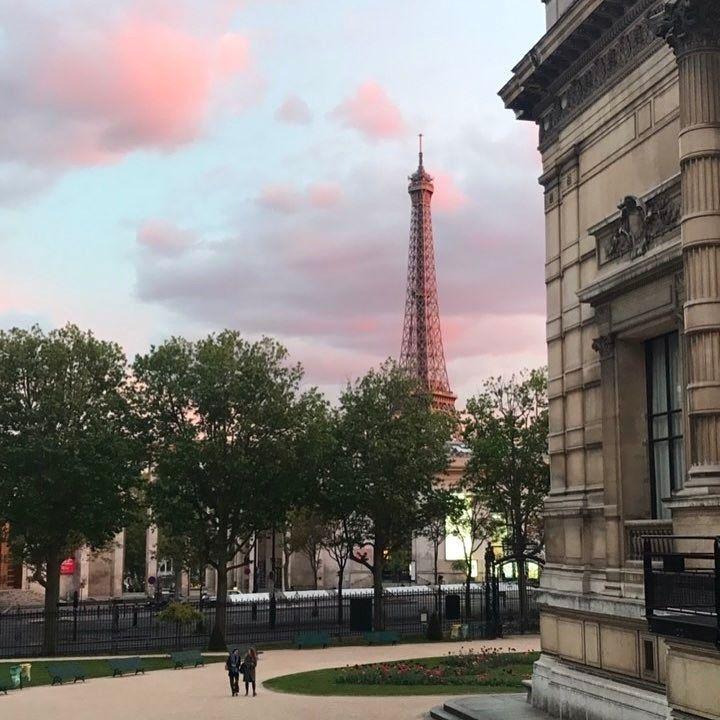 Paris mon amour. Seen from #PalaisGalliera  #paris #parisforever #miamor #mylove #nofilter #toureiffel #eiffeltower