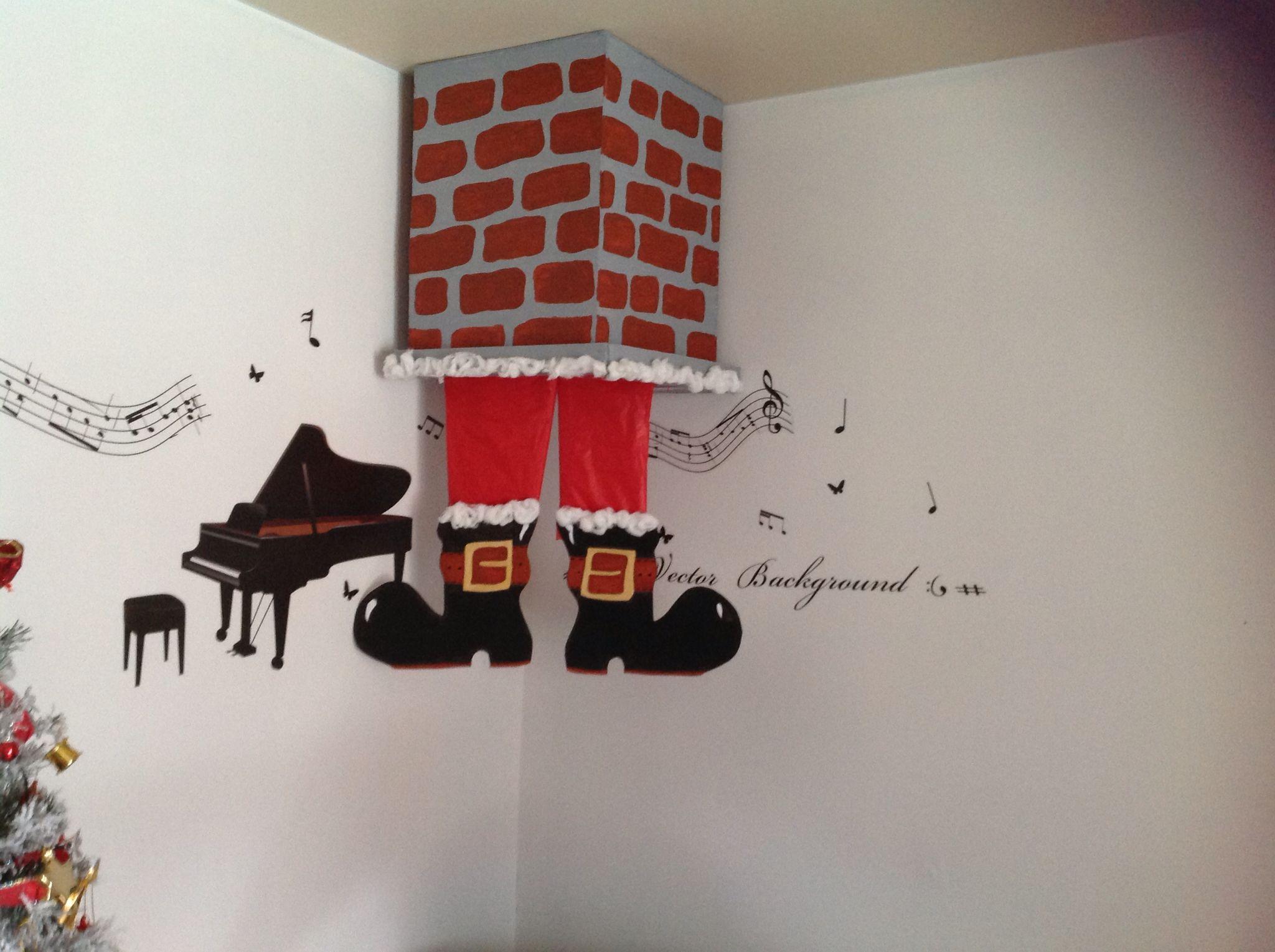 p re no l dans la chemin e bricolage peinture et d co. Black Bedroom Furniture Sets. Home Design Ideas