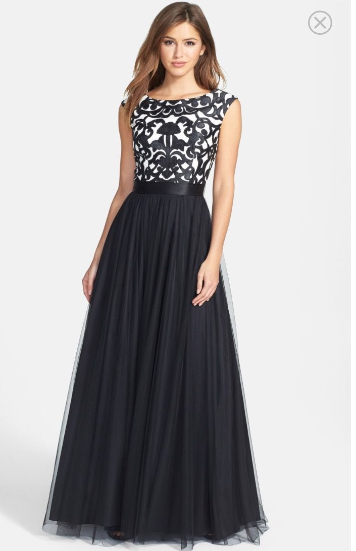 ae2ee47ffa Black Prom Dresses,A Line Prom Dress,Tulle Prom Dress,Lace Prom Formal  Gown,Cap Sleeves on Luulla