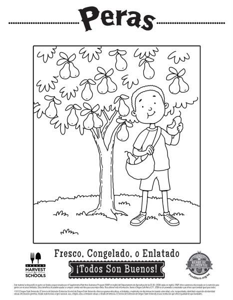 Coloring Pages | Food Hero - Great for kids healthy coloring sheets ...