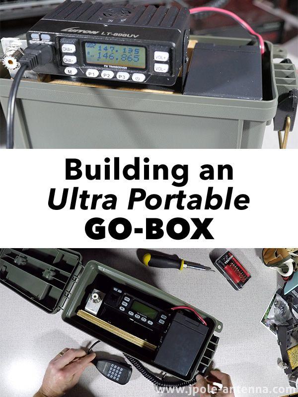 Building an Ultra Portable Go-Box   Ham Radio   Portable ham ... on