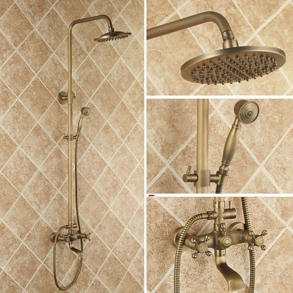 Photo of Luxury vintage bathroom mixer tap