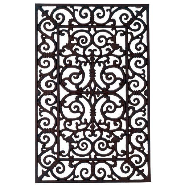 Marvelous Cast Iron Door Mat