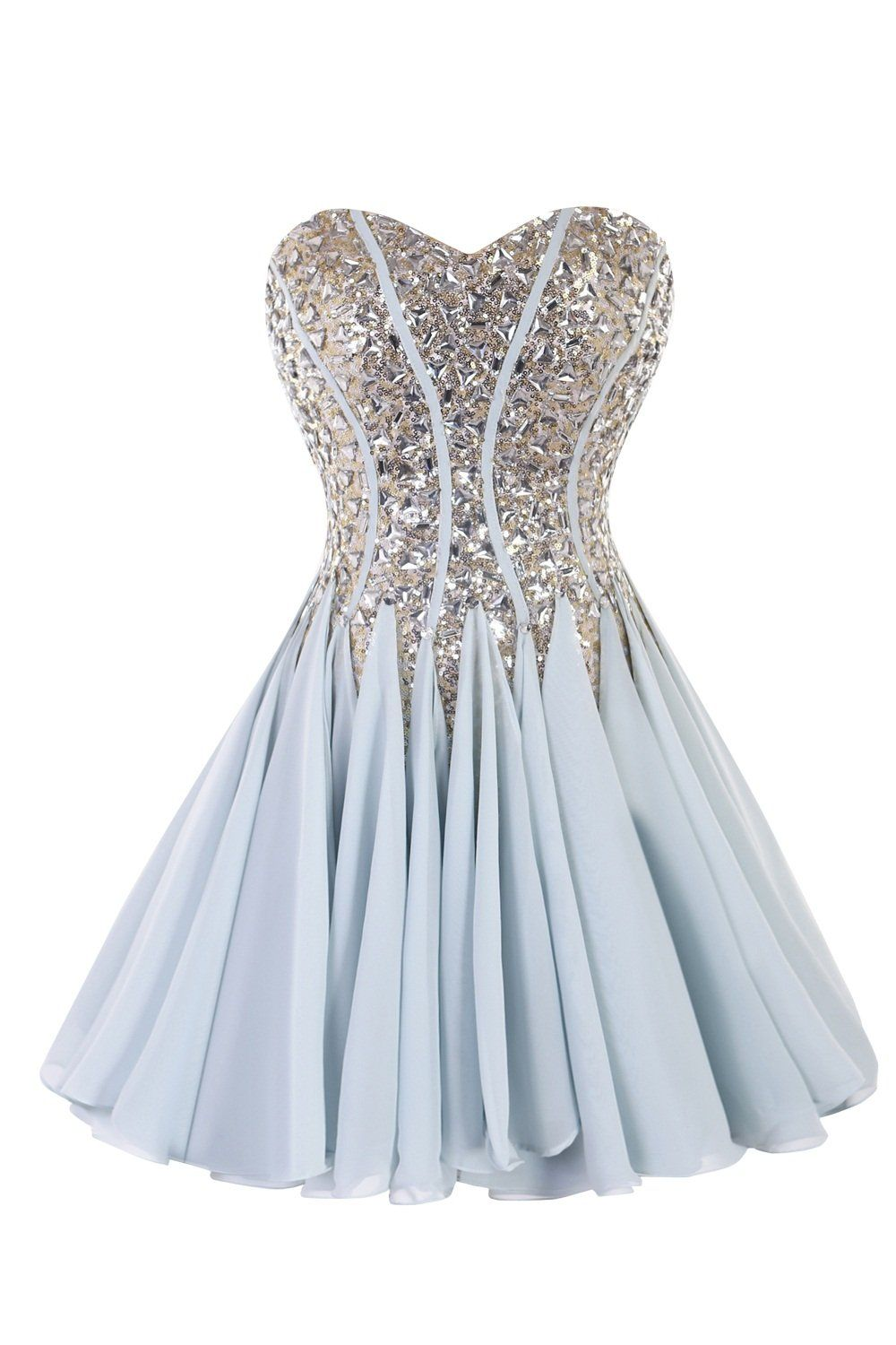Judybridal Women Charming Short Homecoming Dress Prom Gown With