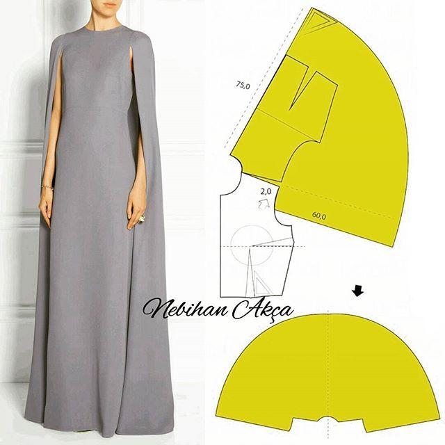 Tasarım Modellere Kalıp Önerileri (Dikiş, Moda, Tasarım) | patrones ...
