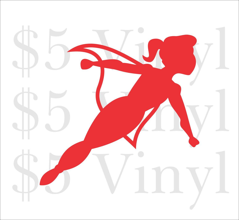 Super Girl Flying Small Vinyl Car Decal Superman Sticker Etsy Car Decals Vinyl Superman Stickers Car Decals [ 1375 x 1500 Pixel ]
