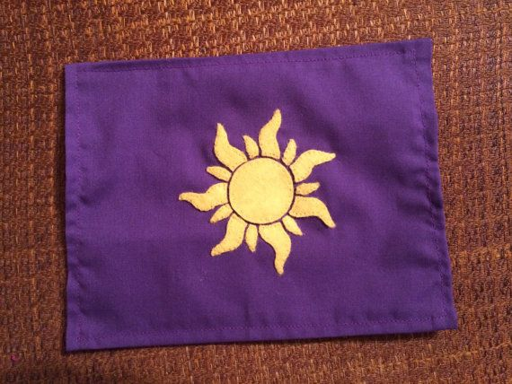 Your Place To Buy And Sell All Things Handmade Felt Applique Rapunzel Sun Tangled